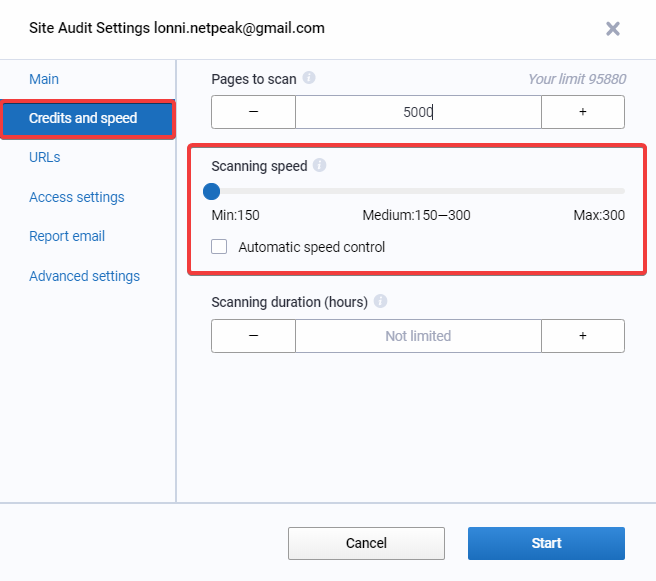 What to do if Audit ends with a different number of pages? 16261788754802
